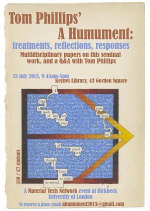 humument poster