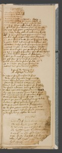 A short note (headed 'Powles') on the burning of St. Paul's, London, in June 1561, beneath two topical verses on former mayor of London Sir Richard Gresham. Trinity College, Cambridge, MS O.9.38, fol.88r. Image via Scriptorium: Medieval and Early Modern Manuscripts Online