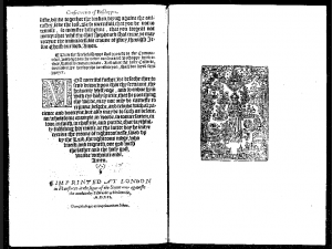 The Virgin Mary in the context of '1552 Book of Common Prayer.'