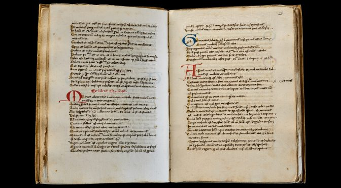Vellum Manuscript: Excerpts from Ancient Philosophers